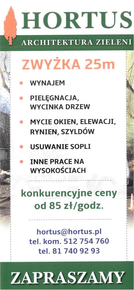zwyżka Lublin